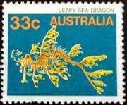 марки Австралии - флора