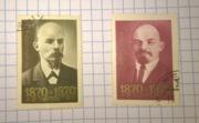 Продам марки В.И. Ленин 1870-1970 гг.